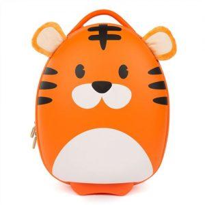 valise cabine enfant en forme de tigre