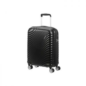 American Tourister Valise Rigide Taille Cabine 5 Noir Metalise