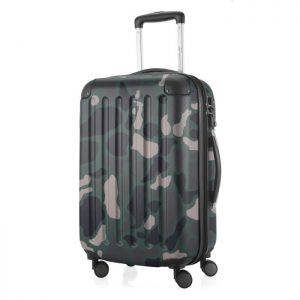 Chariot Compact Tige: Valise Voyage Avec Disque 10 Camouflage