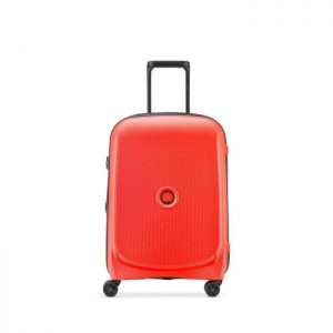 Delsey Valise Cabine Rigide 55cm 4 Roues 33 Litr Rouge