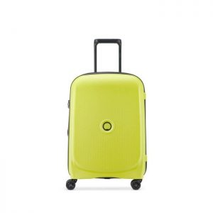 Delsey Valise Cabine Rigide 55cm 4 Roues 33 Litr Vert Chartreuse
