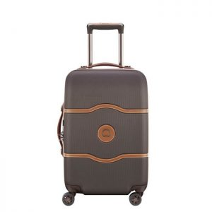 Delsey Valise Rigide Cabine 55cm Châtelet Air (1 Chocolat