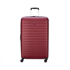 Delsey Valise Rigide Taille Xxl 81cm 4 Roues 108 Rouge