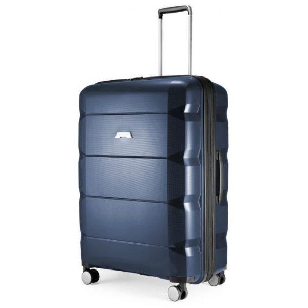 Hauptstadtkoffer Britz Valise Plus Grande Baga Bleu Fonce