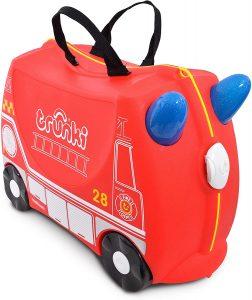 valise à chevaucher camion de pompier