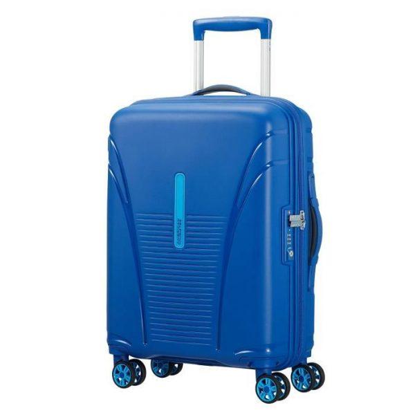 Valise Cabine American Tourister Ssytracer Highlin Bleu