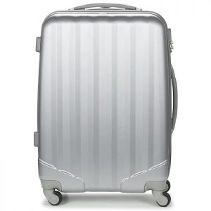 Valise Cabine David Jones Ba 1011 Silver 66 Cm Silver