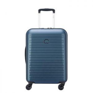 Valise Cabine Delsey Segur 2.0 Cabine Slim 4dr 55 Bleu