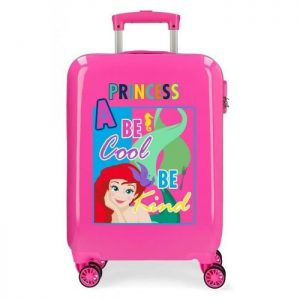 "Valise Cabine Disney ""attitude Princess"". Rose ""attitude Princess"""
