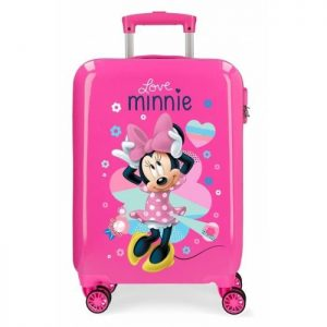 "Valise Cabine Disney Minnie ""love"" Minnie ""love"" Multicolore"
