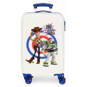 Valise Cabine Enfant Toy Story Blanc/ Bleu Toy Story