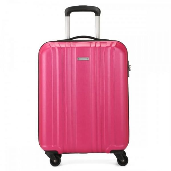 David Jones Valise Cabine Rigide Légère Abs Ba Rose