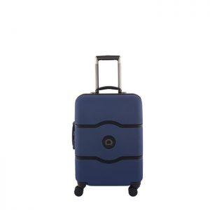 Valise Cabine Rigide Châtelet Hard + Slim 55 Cm 02 Bleu