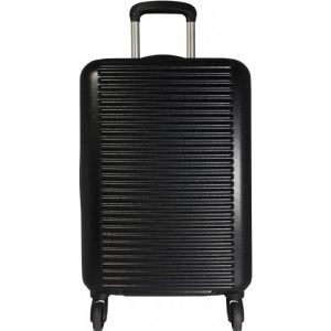 Valise Cabine Rigide David Jones Abs 55 Cm Extensi Noir