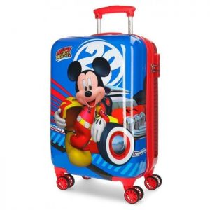 "Valise Cabine Rigide Disney ""mickey World"" Mickey World"