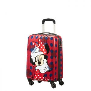 Valise Cabine Rigide Hypertwist 65 Cm Disney 6333 Disney Minnie P Rouge