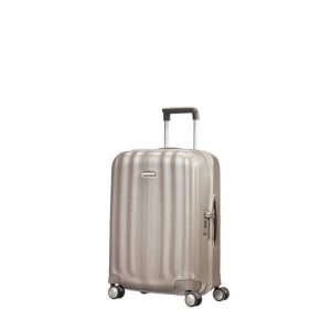 Valise Cabine Rigide Lite Cube 55 Cm 1173 Ivoire Ivoire