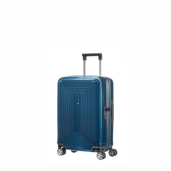 Valise Cabine Rigide Neopulse 55 Cm Metallic Blue Metallic Blue