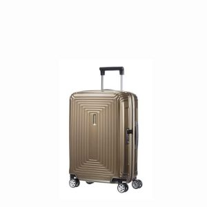 Valise Cabine Rigide Neopulse 55 Cm Metallic Sand Metallic Sand