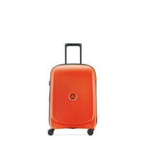Valise Cabine Rigide Slim Belmont Plus 55 Cm 25 Or Orange