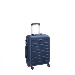 Valise Cabine Rigide Slim Carlit 55 Cm Bleu 02 Ble Bleu