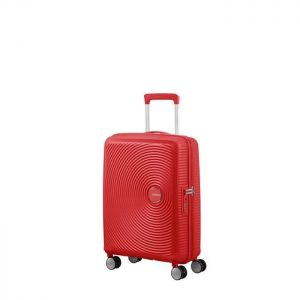 Valise Cabine Rigide Soundbox 55 Cm 1226 Coral Red Coral Red