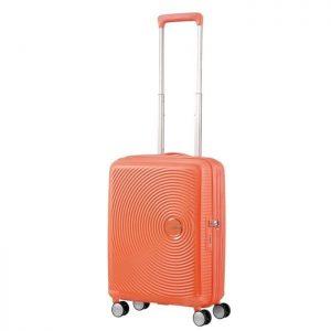 Valise Cabine Rigide Soundbox 55cm Pêche 7067 Spic Spicy Peach