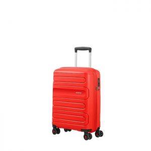 Valise Cabine Rigide Sunside 55 Cm 0409 Sunset Red Red