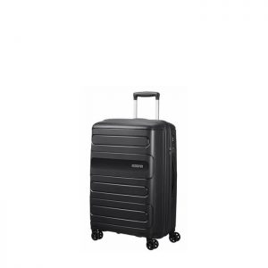 Valise Cabine Rigide Sunside 55 Cm 1041 Black Black