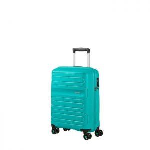 Valise Cabine Rigide Sunside 55 Cm 4842 Aero Turqu Turquoise