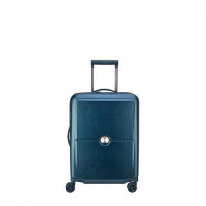 Valise Cabine Rigide Turenne Slim 55 Cm 55.00 02 B Bleu