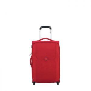 Valise Cabine Slim 2 Roues Extensible Mercure 55 C Rouge