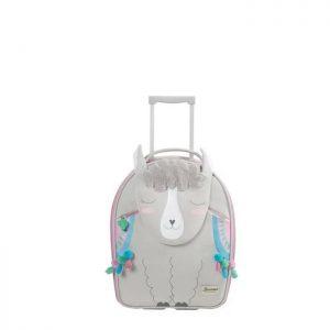 Valise Cabine Souple 2 Roues Enfant Happy Sammies Alpaca Aubrie