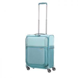 Valise Cabine Souple 4 Roues Uplite 55cm Bleu Glac Bleu Glace