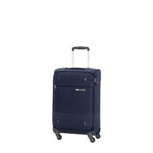 Valise Cabine Souple Base Boost Slim 55 Cm 1598 Na Navy Blue