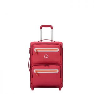Valise Cabine Souple Carnot 55 Cm 2 Roues 09 Rose Rose