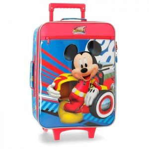 "Valise Cabine Souple Disney ""mickey World"" Mickey World Multicolore"