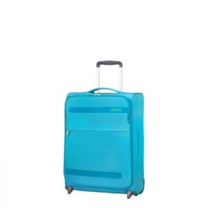 Valise Cabine Souple Herolite 55 Cm 2 Roues Mighty Mighty Blue