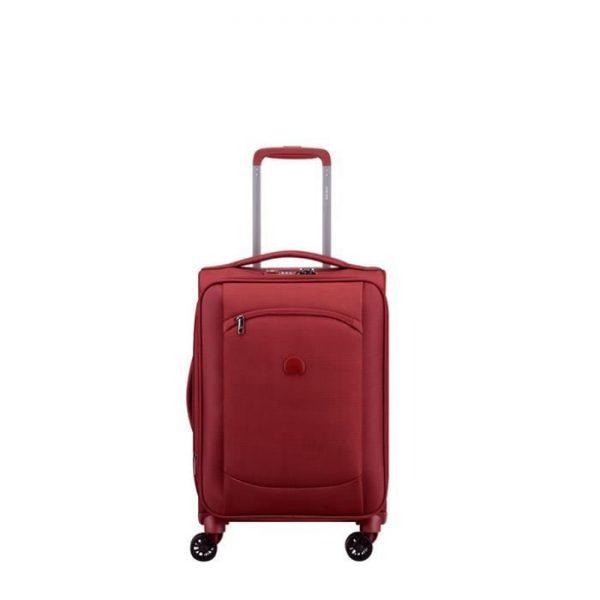 Valise Cabine Souple Montmartre Air Extensible 55 Rouge