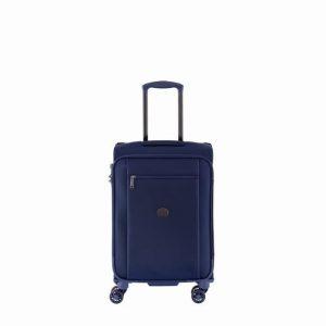 Valise Cabine Souple Montmartre Pro 55 Cm Bleu 02 Bleu