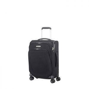 Valise Cabine Souple Slim Spark Sng 55 Cm 1041 Bla Black
