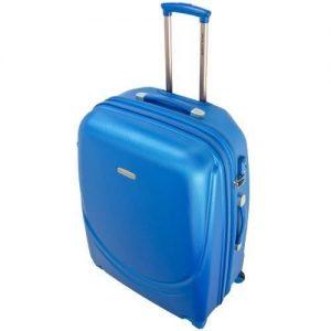 Valise David Jones Extensible B 8821 B 67 Cm 4 Rou Bleu