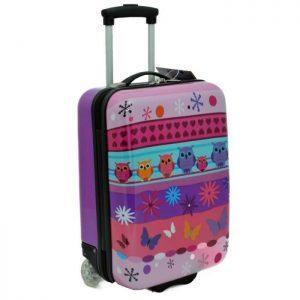 valise cabine enfant hibou