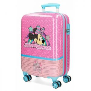 "Valise Enfant Disney Minnie ""pink Vibes"" Rose/turquoise ""pink Vibes"""
