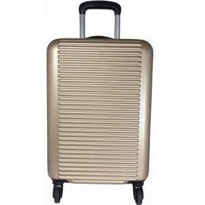 Valise Rigide David Jones Abs 69 Cm Extensible Cha Champagne