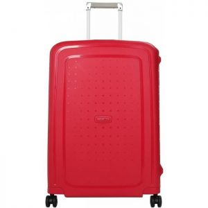 Valise Rigide Samsonite Scure 69 Cm Tsa Rouge Sc Rouge