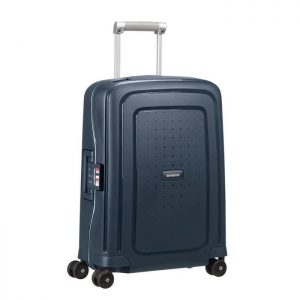 Valise Samsonite S'cure Spinner 55 Cm Navy Blu Navy Blue