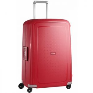 Valise Samsonite S'cure Spinner 75 Cm Rouge Rouge