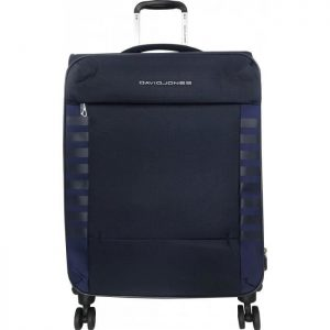 Valise Souple Extensible David Jones 66 Cm Tsa Mar Marine