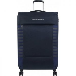 Valise Souple Extensible David Jones 79 Cm Tsa Mar Marine